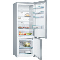 Bosch Serie 4 Freestanding Stainless Steel Fridge Freezer KGN56XL30
