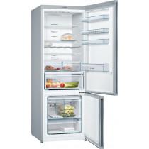 Bosch Serie 4 Freestanding Stainless Steel Fridge Freezer KGN56XLEA