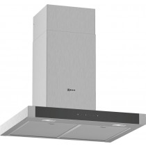 Neff N50 60cm Stainless Steel Box Chimney Hood D64BHM1N0B