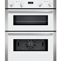 Neff N50 White Built-Under Double Oven J1ACE2HW0B