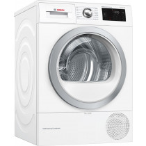 Bosch Serie 6 WTWH7660GB Freestanding White Condenser 9kg A++ Tumble Dryer