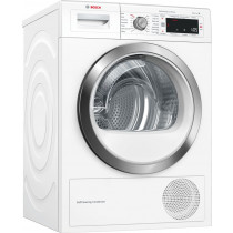 Bosch Serie 8 WTW87561GB Freestanding White Condenser 9kg A++ Tumble Dryer