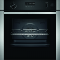 Neff N50 Slide & Hide Pyrolytic Single Oven With VarioSteam B4AVH1AH0B