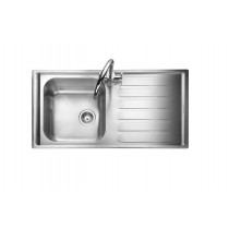 Rangemaster Manhattan MN10101R/ Single Bowl Stainless Steel Sink Right