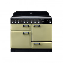 Rangemaster Elan Deluxe 110 Induction Olive Green Range Cooker ELA110EIOG/ 117820