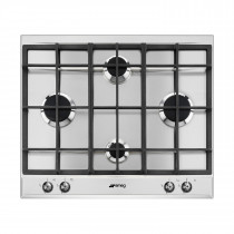 Smeg P360XGH Classic 60 Stainless Steel Gas Hob
