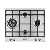 Smeg P361XGH Classic 60 Stainless Steel Gas Hob