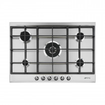 Smeg Classic 72 Stainless Steel Gas Hob