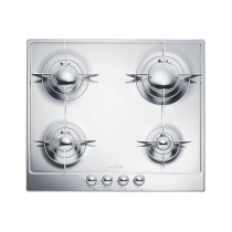 Smeg Piano 60 Stainless Steel Gas Hob