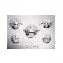 Smeg Piano 72 Stainless Steel Gas Hob