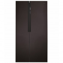 CDA American Style Black Freestanding Fridge Freezer