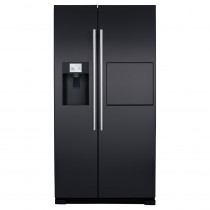 CDA American Style Black Freestanding Fridge Freezer PC71BL