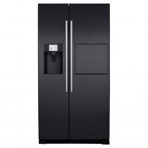 CDA American Style Black Freestanding Fridge Freezer PC71BL
