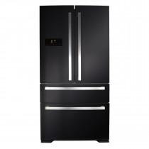 CDA American Style Black Fridge Freezer PC70BL