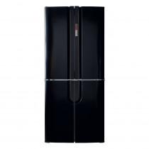 CDA Freestanding Four Door Black Fridge Freezer PC88BL