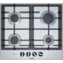 Bosch Serie 4 PCP6A5B90 Stainless Steel Gas Hob