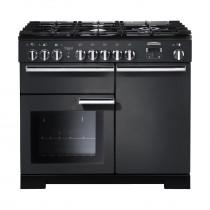 Rangemaster Professional Deluxe 100 Dual Fuel Slate Range Cooker 105930