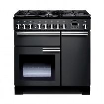 Rangemaster Professional Deluxe 90 Dual Fuel Slate Range Cooker PDL90DFFSL/C 105950
