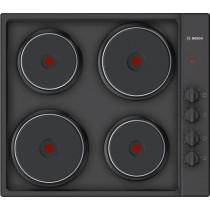 Bosch Serie 2 PEE686CA1 Black Sealed Plate Hob