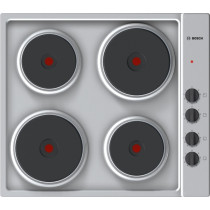 Bosch Serie 2 PEE689CA1 Brushed Steel Sealed Plate Hob