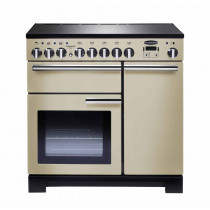 Rangemaster Professional Deluxe 90 Induction Cream Range Cooker PDL90EICR/C 97880
