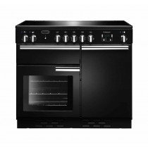 Rangemaster Professional Plus 100 Ceramic Black Range Cooker
