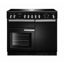 Rangemaster Professional Plus 100 Ceramic Black Range Cooker
