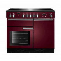 Rangemaster Professional Plus 100 Ceramic Cranberry Range Cooker