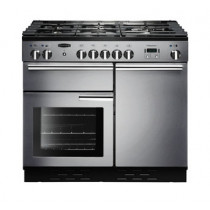 Rangemaster Professional Plus 100 Natural Gas Stainless Steel Range Cooker PROP100NGFSS/C 111770
