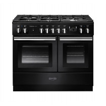 Rangemaster Professional Plus FX 100 Dual Fuel Black Range Cooker PROPL100FXDFFGB/C 123350
