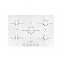 Smeg Linea Glass 74 White Gas Hob