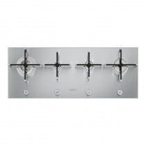 Smeg Linea Ultra Low Profile 100 Stainless Steel Gas Hob