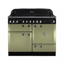 Rangemaster Elan 110 Ceramic Olive Green Range Cooker 101000