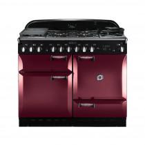 Rangemaster Elan 110 Dual Fuel Cranberry Range Cooker 101190