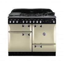 Rangemaster Elan 110 Dual Fuel Cream Range Cooker 73240