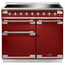 Rangemaster Elise 100 Induction Cherry Red Range Cooker 100220