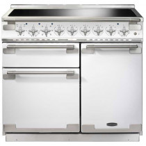 Rangemaster Elise 100 Induction White Range Cooker ELS100EIWH/ 100210