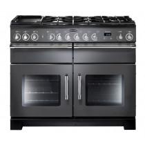 Rangemaster Excel 110 Dual Fuel Slate Range Cooker EXL110DFFSL/C 105550