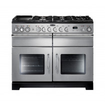 Rangemaster Excel 110 Dual Fuel Stainless Steel Range Cooker EXL110DFFSS/C 86440