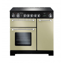 Rangemaster Kitchener 90 Ceramic Cream Range Cooker KCH90ECCR/C 79280