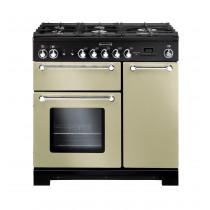 Rangemaster Kitchener 90 Dual Fuel Cream Range Cooker 81440