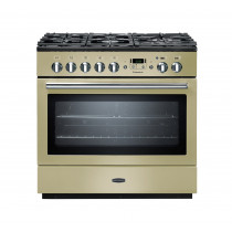 Rangemaster Professional Plus 90 FX Dual Fuel Cream Range Cooker 91120