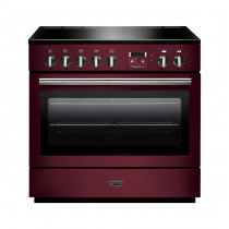 Rangemaster Professional Plus FX 90 Induction Cranberry Range Cooker 96330