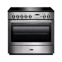 Rangemaster Professional Plus FX 90 Induction Stainless Steel Range Cooker 96300