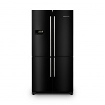 Rangemaster RSXS18BL/C Four Door Black 560 Litre A+ Rated Fridge Freezer 11907