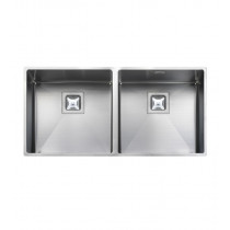 Rangemaster Atlantic Kube Double Bowl Undermount Sink - KUB4040/