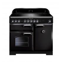 Rangemaster Classic Deluxe 100 Induction Black Range Cooker 95920
