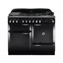 Rangemaster Elan 110 Dual Fuel Black Range Cooker 73220