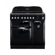 Rangemaster Elan 90 Induction Black Range Cooker ELAS90EIBL/ 89400