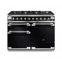 Rangemaster Elise 110 Dual Fuel Black Range Cooker 94200